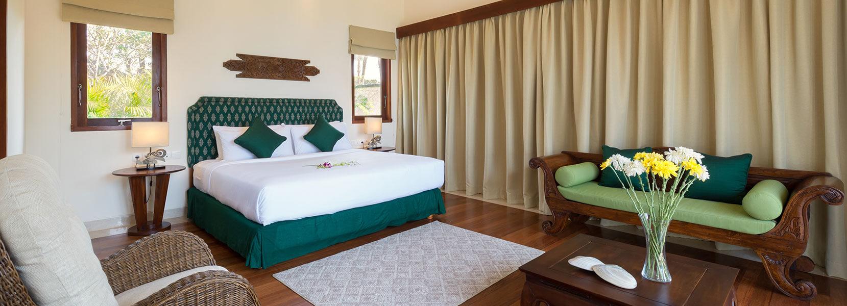 Pandawa Cliff Estate - Villa Rose - Bedroom four