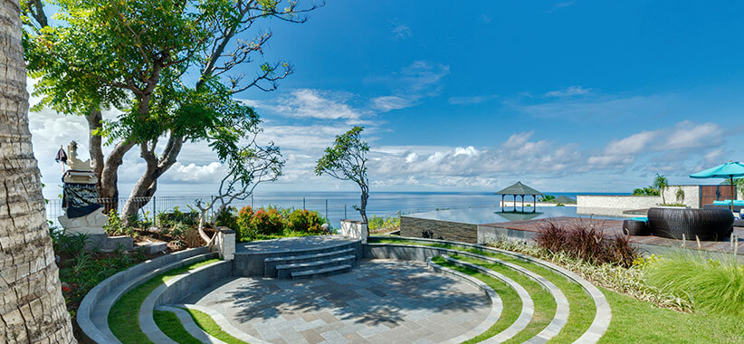 Pandawa Cliff Estate - The Pala - The amphitheatre
